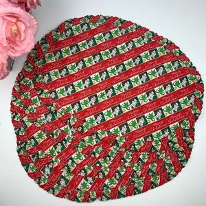 Set of 4 Vintage Christmas Placemats